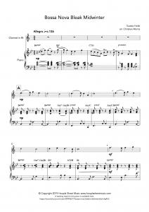 Bossa Nova Bleak Midwinter (Clarinet)