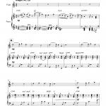 Bossa Nova Bleak Midwinter (Flute)