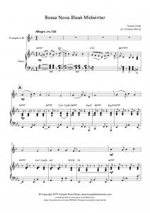 Bossa Nova Bleak Midwinter (Trumpet)