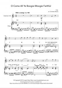 O Come All Ye Boogie-Woogie Faithful (Clarinet)