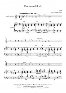 Emmanuel Rock (O Come, O Come Emmanuel) for Clarinet