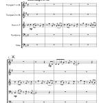 Jingle Bells Salsa (Brass Quintet)