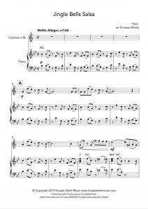 Jingle Bells Salsa (Clarinet)