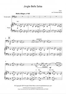 Jingle Bells Salsa (Cello)