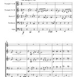 Jump Blues Joy to the World (Brass Quintet)