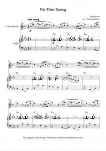Für Elise Swing (Clarinet)