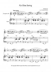 Für Elise Swing (Trumpet)