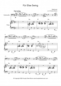 Für Elise Swing (Cello)