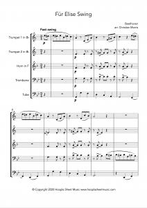 Für Elise Swing (Brass Quintet)
