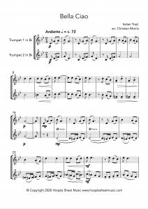 Bella Ciao (Trumpet Duet)