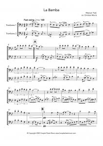 La Bamba (Trombone Duet)