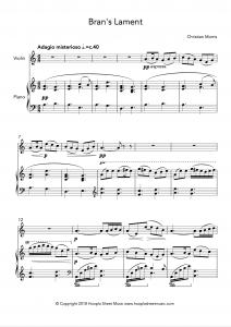 Bran's Lament (Violin)