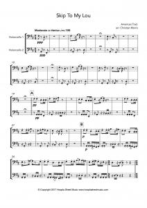 Skip To My Lou (Cello Duet)