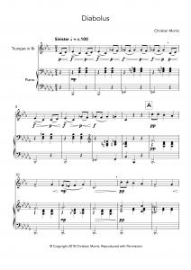 Diabolus (Trumpet and Piano)